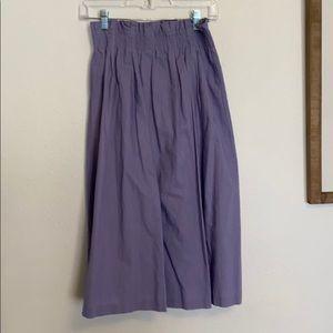 Lavender skirt!